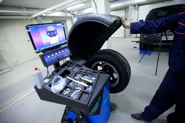 Балансировка колес — важный этап шиномонтажа