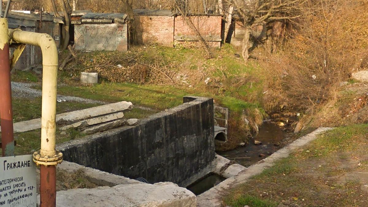 Склон ручья Безымянный укрепят за 65,4 млн рублей