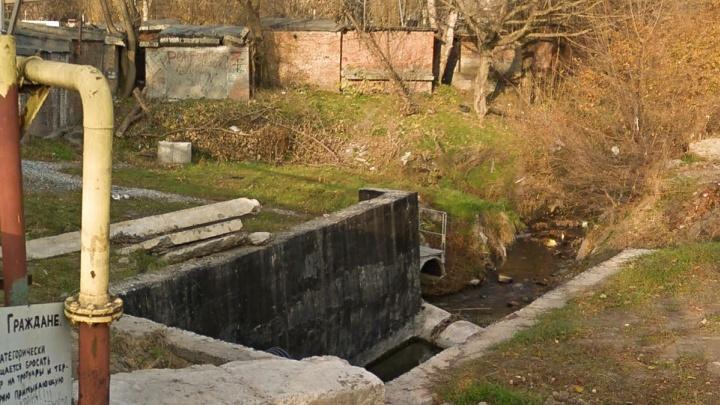 На укрепление берегов Безымянного ручья потратят 65 миллионов рублей