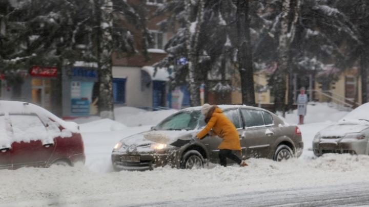 Снежный апокалипсис: как Уфа встретила обильные осадки