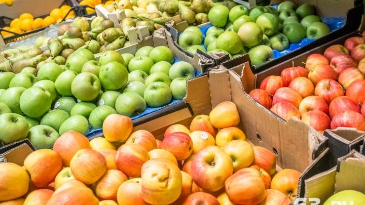 В магазинах Самарской области эксперты забраковали 13,5 кг фруктов и овощей