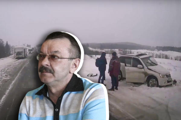 При столкновении с автобусом Suzuki развернуло несколько раз. За рулем был врач-мануальщик Константин Пипуныров