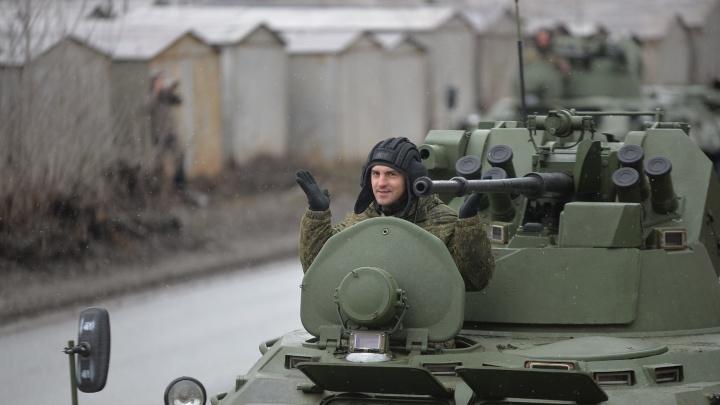 Танки в городе: в среду на время репетиции парада в Екатеринбурге перекроют четыре улицы