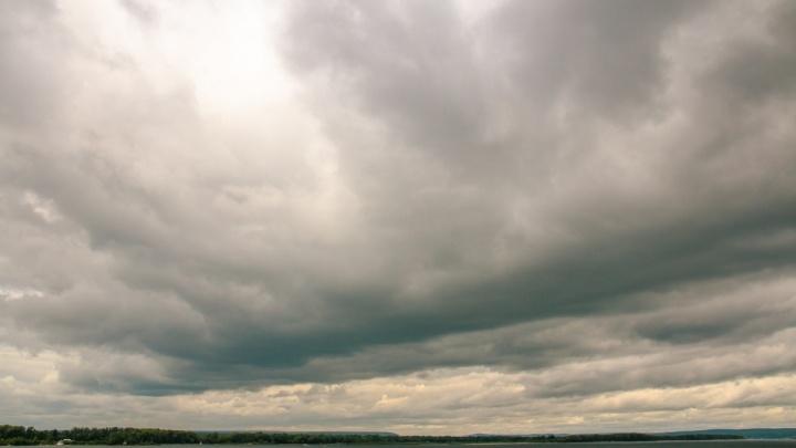 Кратковременный дождь и гроза: в Самарской области наступило похолодание