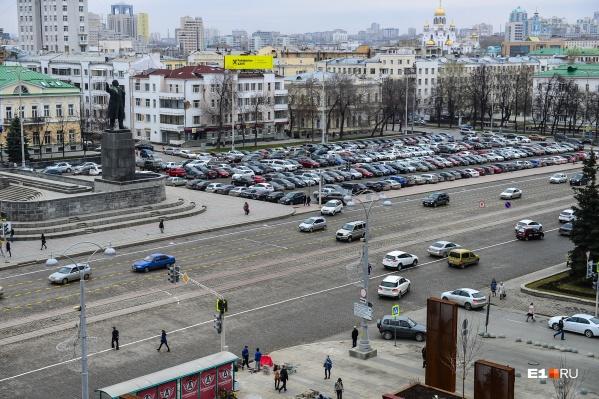 Площадь закроют за три дня до празднования