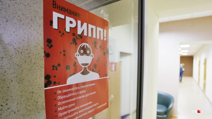 На Южном Урале обнаружили первый за сезон случай заболевания свиным гриппом