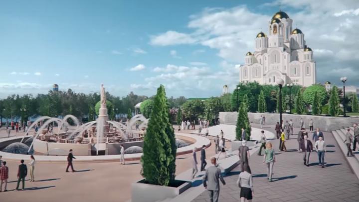 «Такими роликами они вызовут недовольства»: архитекторы раскритиковали новое видео о храме и сквере