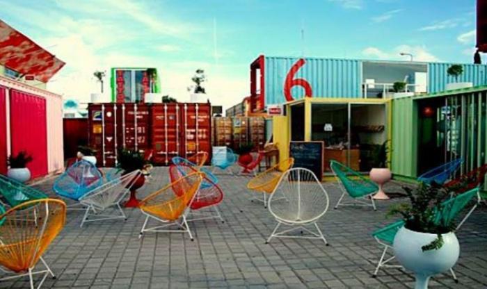 Площадку застроят портовыми контейнерами