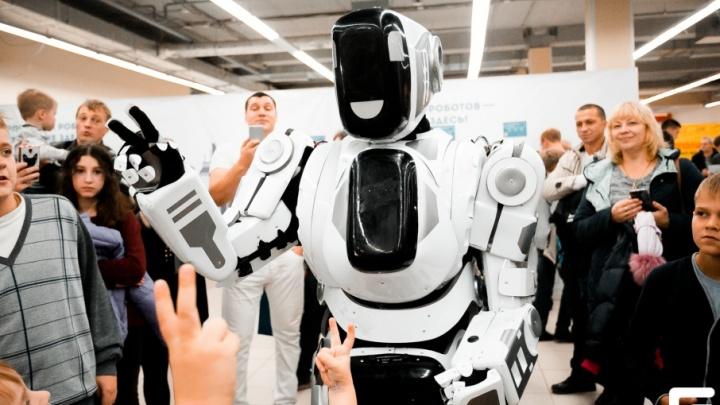Выставка «Робополис»: робот-собака, полет над Парижем и искусственный интеллект в действии