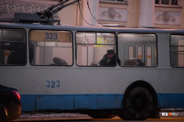 Троллейбусы трех маршрутов перестанут ходить с 21 по 29 сентября