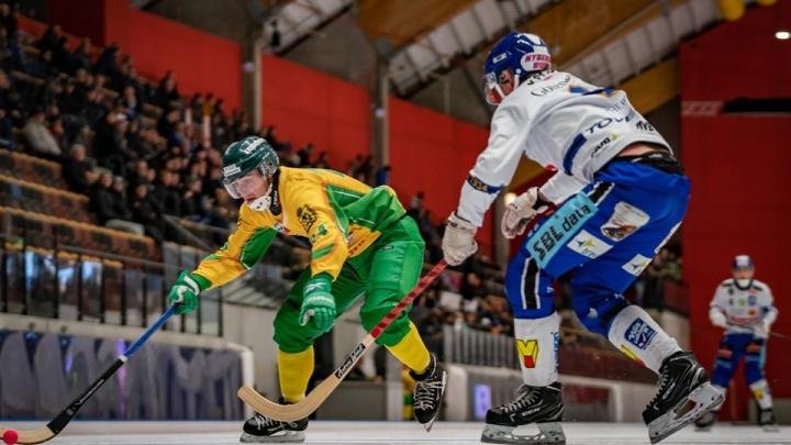 «Не хватило чуть-чуть»: «Водник» уступил чемпиону Швеции на Кубке мира по хоккею с мячом