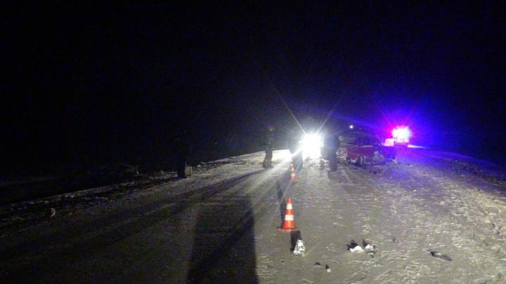 На трассе Екатеринбург — Алапаевск в ДТП погибли три человека