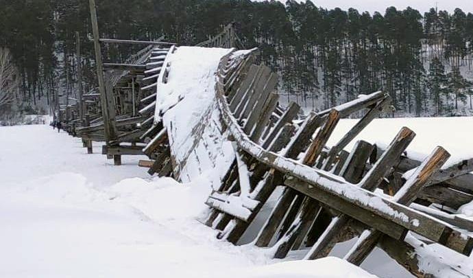 В Башкирии разберут самый длинный пешеходный мост России, гдеснимали кадры киноэпопеи «Вечный зов»