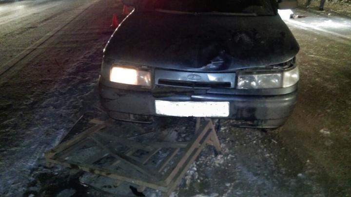 В Уфе водитель ВАЗ-2112 сбил насмерть дорожного рабочего