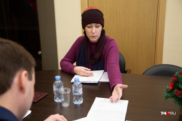 Уполномоченный по правам человека вмешался в ситуацию Надежды Зиминой после того, как её историю рассказал 74.RU
