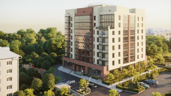 Кирпичные стены и трехметровые потолки: на Макаренко построили уникальный 8-этажный дом