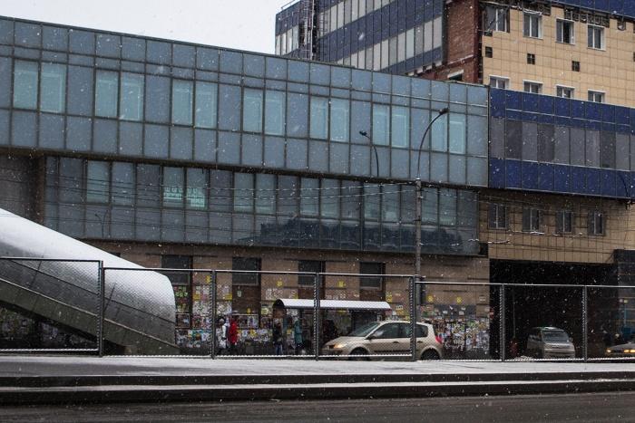 Новый павильон на остановке автовокзала появится до конца сентября