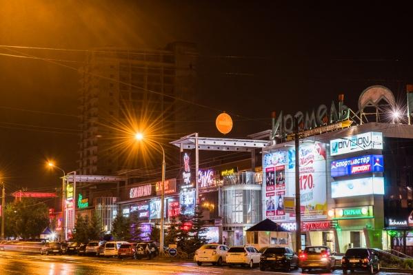 Развлекательное заведение находится в Кировском районе Уфы