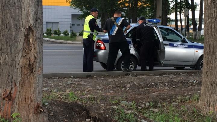 Мотоциклист разбился насмерть в жёсткой аварии на левом берегу