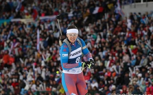 Союз биатлонистов России защитит башкирскую биатлонистку Ольгу Вилухину