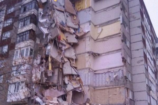 Обрушение дома не обошлось без жертв
