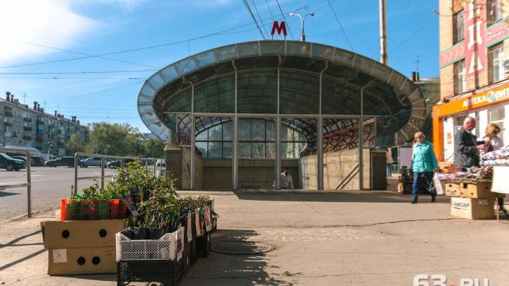 Самарский метрополитен зачистят от рекламы