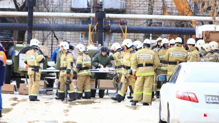 Спасатели планируют завершить поисковую операцию в Шахтах к середине вторника