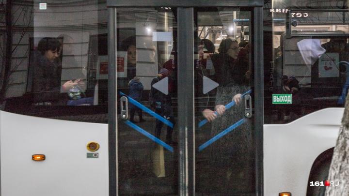 Водитель батайского автобуса уверен, что якобы высаженный в промзоне подросток приукрасил ситуацию