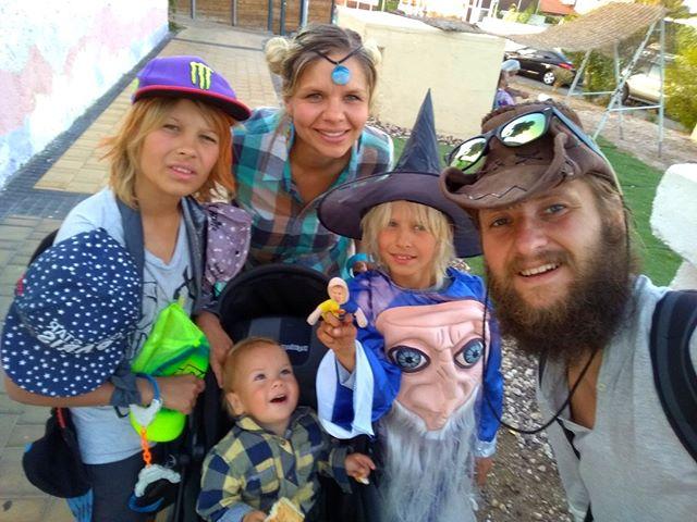 В Израиле уральцы побывали на празднике, в котором все наряжаются в карнавальные костюмы