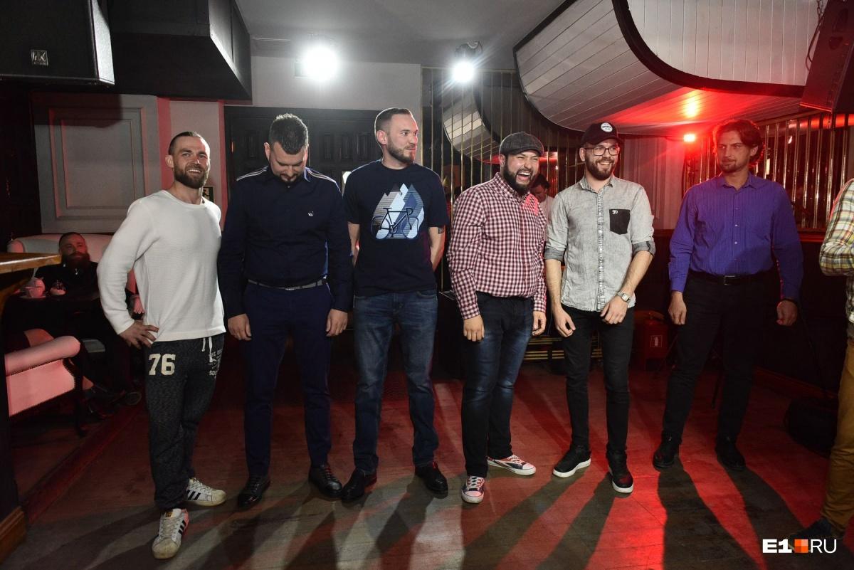 Эти мужчины боролись за победу в номинации «Голливудская борода»