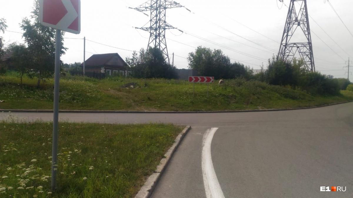 Авария произошла в районе этого перекрестка