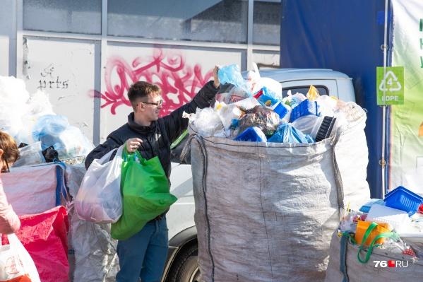 Пластик в Ярославле уже сейчас можно сдавать на переработку