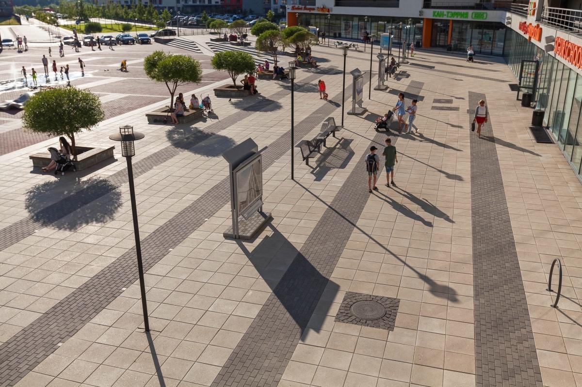 Микрорайон «Европейский» в Тюмени — пример организации общественного пространства