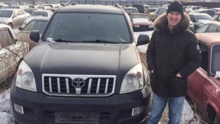 Угнанный у омича «Ленд Крузер» нашли спустя год в Красноярске