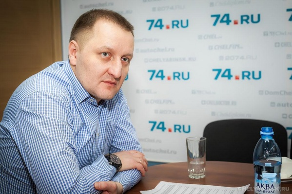 Дмитрий Александрович ранее уже бывал в редакции 74.ru, но на этот раз интервью записывалось по Skype