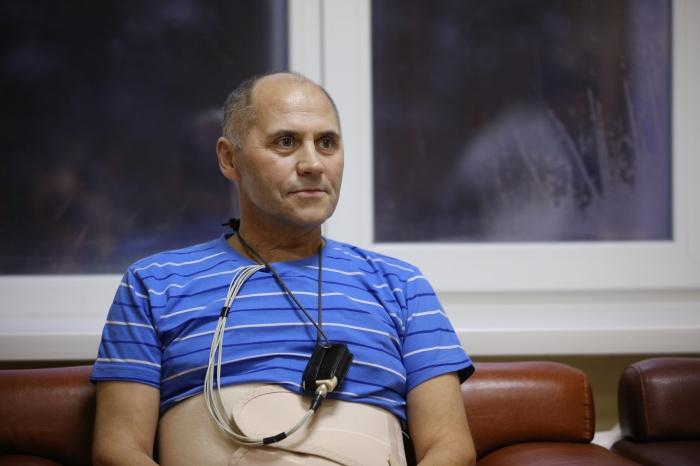 Сибиряк Александр Лукашов попал в клинику Мешалкина с крайне запущенной опухолью