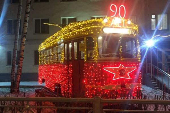 Так сейчас выглядит старинный трамвайный вагон
