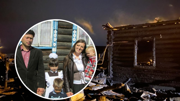 Кошмар в ночь на Рождество: в Ярославской области при пожаре погибли трое детей. Хроника