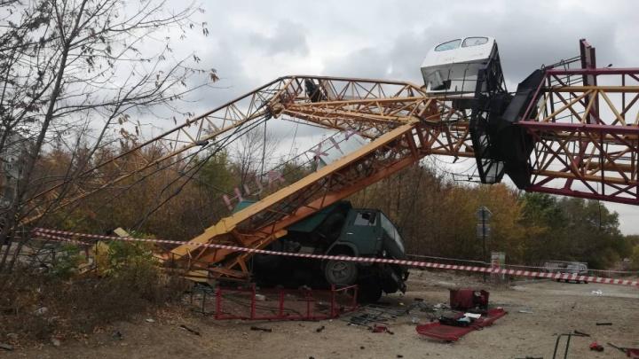 Кран рухнул из-за нарушений: следователи возбудили уголовное дело о ЧП на стройплощадке в Самаре