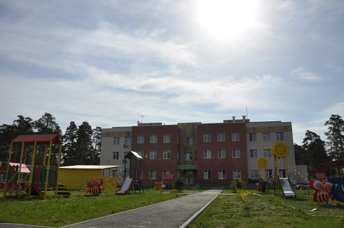 Детский сад «Медвежонок» в посёлке Приобском