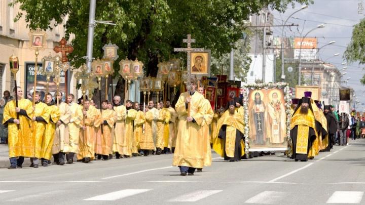 Молодёжный крестный ход перекроет улицы в центре Новосибирска