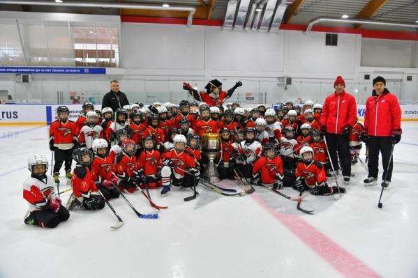 Теперь хоккейная академия «Авангарда» обрела крышу над головой и в Омске