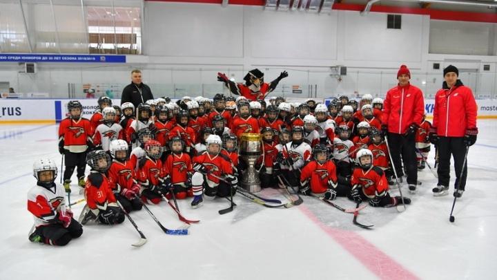 Центральный комплекс хоккейной академии «Авангард» откроют на следующей неделе