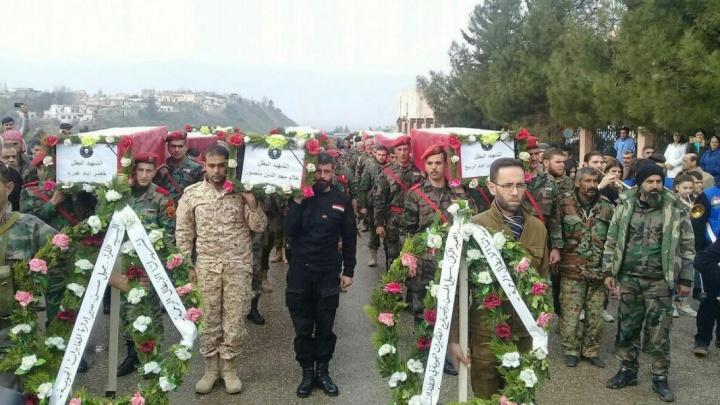 В Сирии во время массированного удара погибли наёмники из Асбеста