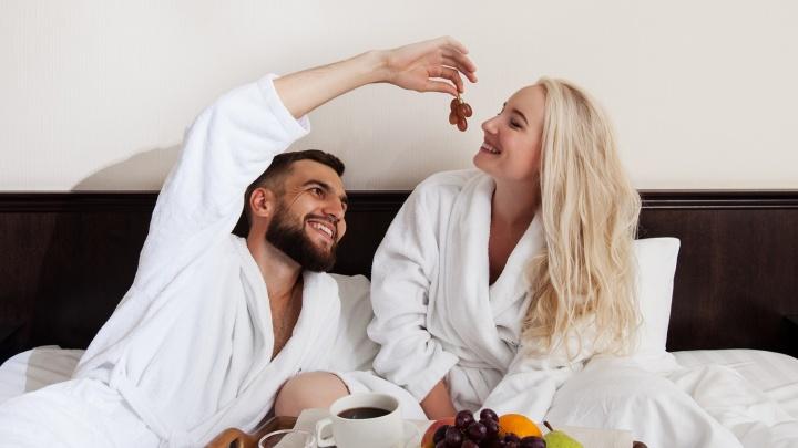 «Между нами тает лёд»: отель River Park пригласил всех влюблённых