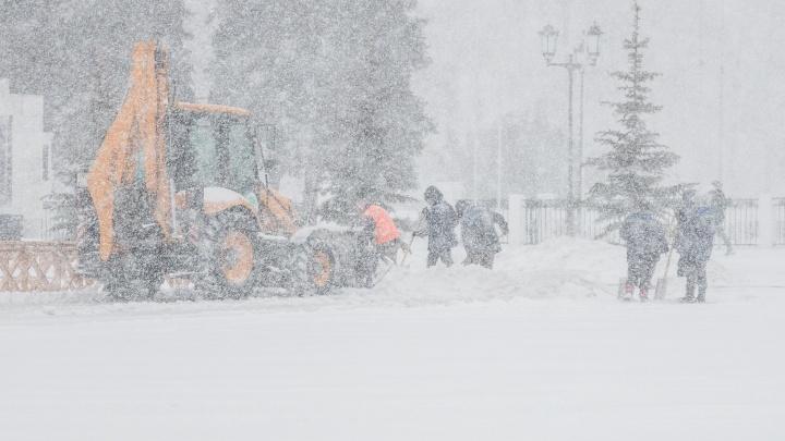 Непогода задержится до среды: в Самаре опять ожидают метель