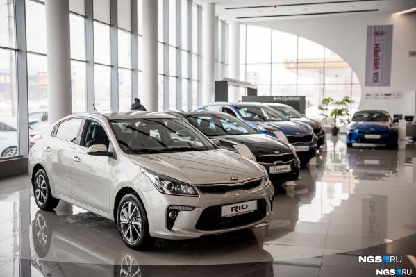 За 2018 год продано 1,8 миллиона новых авто