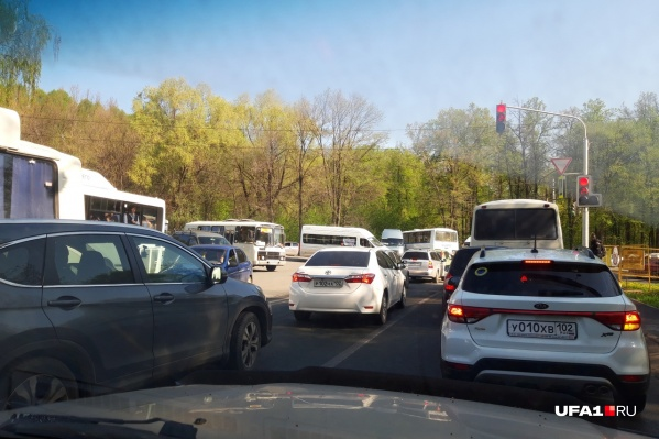 Давка на дороге добралась и до Черниковки