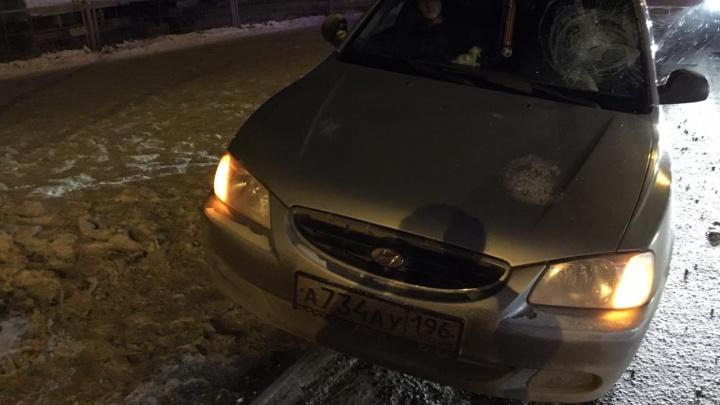 На Вторчермете Hyundai сбил подростка на пешеходном переходе
