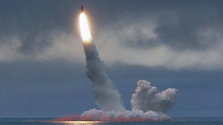 В Белом море подлодка «Князь Владимир» впервые выстрелила «Булавой»